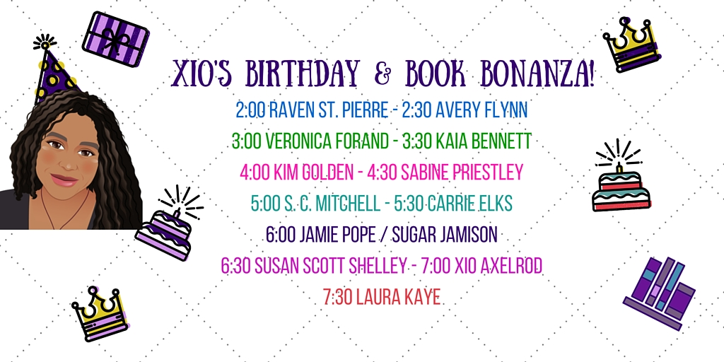 Author Line-up