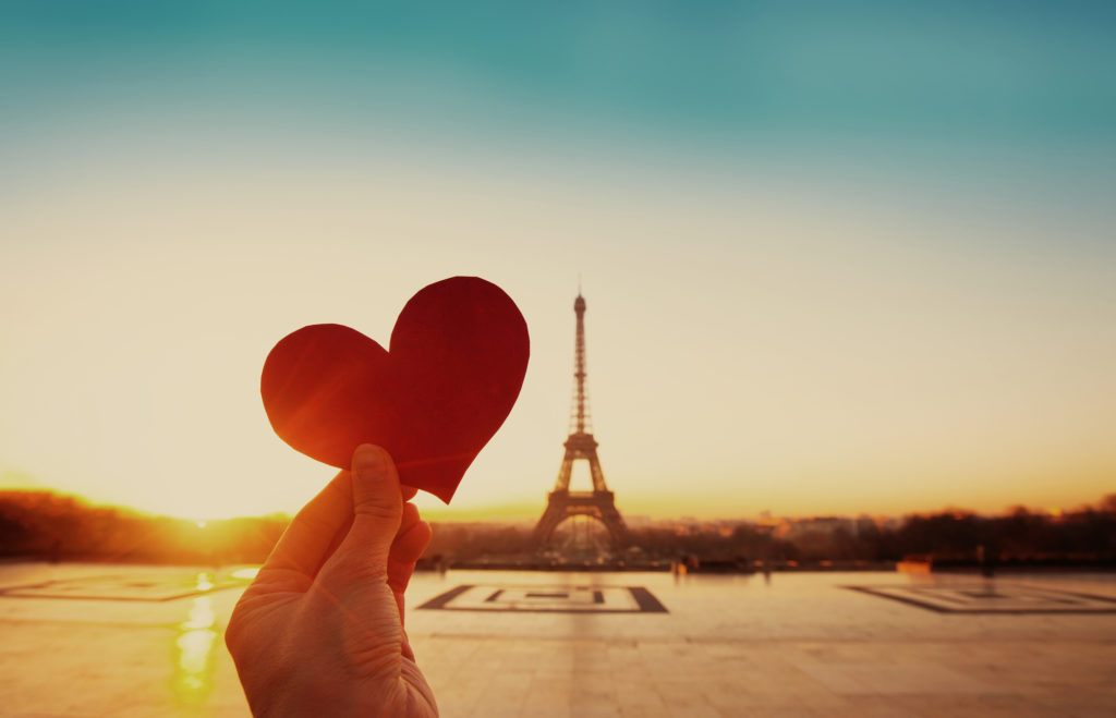 The heart of Paris